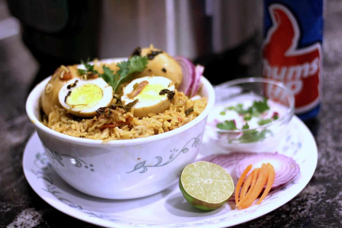 Instant Pot Egg Pulav | Biryani